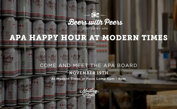 Beers with Peers at Modern Times